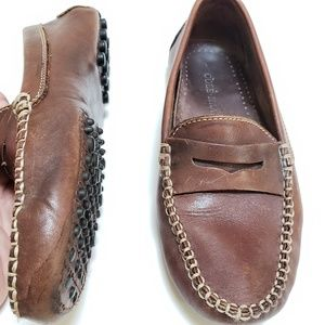 Cole Haan | Leather Driver Penny Loafer Shoes